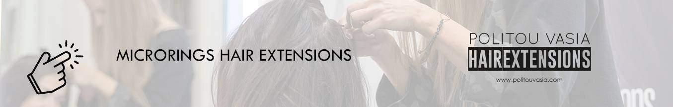 politou vasia hair extensions microrings